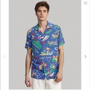 Polo Ralph Lauren Hawaiian CAMP SHIRT Tropical NWT